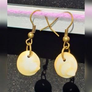Seashell earrings EJdesigns evaogmalthe.dk (1)