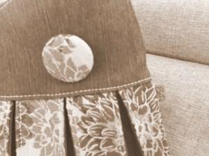Detail patchworkové kabelky