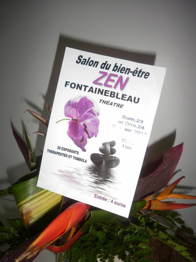 Salon du BienEtre de Fontainebleau