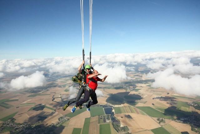 saut en parachute Montbéliard, Le Havre , Paris