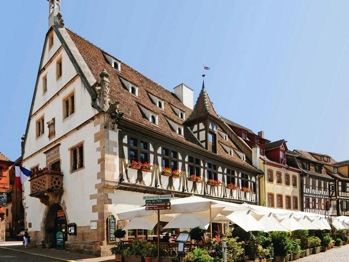 Restaurant La Halles Aux Blés Chauffeur privé Obernai / Evasion Cars