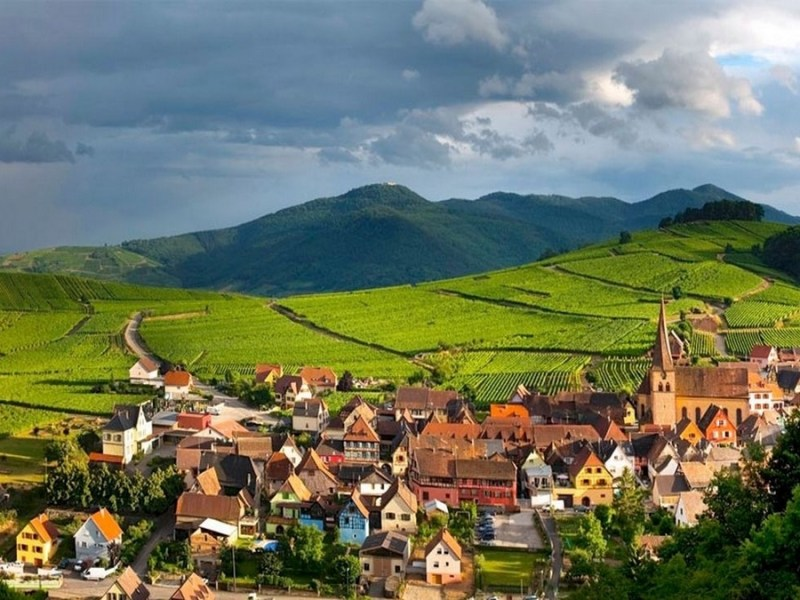 Visite et excursion en alsace