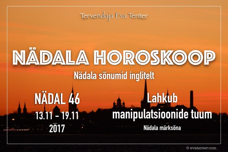 nädala horoskoop 46 2017
