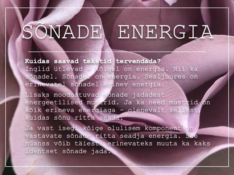 energia sõnad