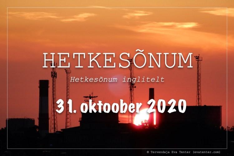 31.okt.2020
