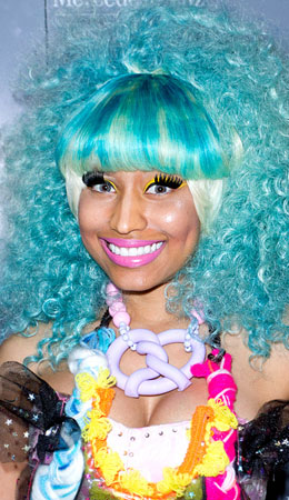 top ten crazy nicki minaj hairstyles