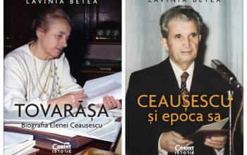 Editura Corint publică două noi volume semnate de Lavinia Betea - Comunicat de presă