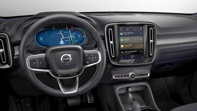 Volvo XC40 Recharge Review Interior
