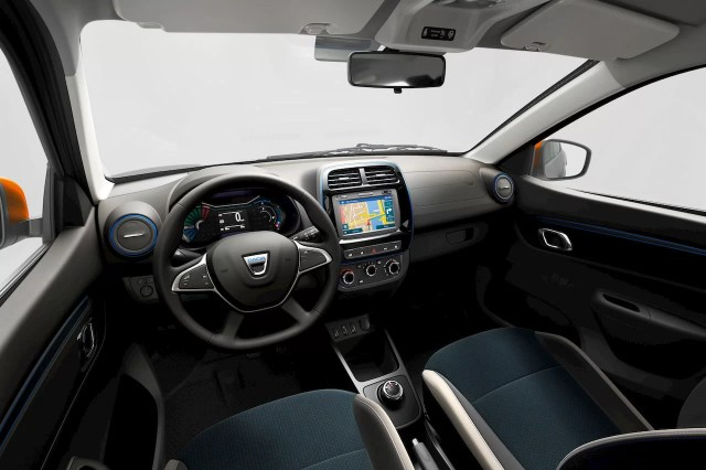Renault KWID Electric Review Interior