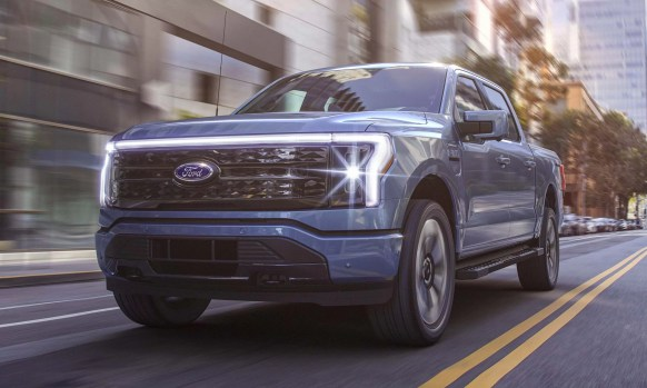 Ford F-150 Lightning Electric Truck