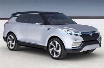 Ssangyong Korando E100 Electric SUV Teased 2021