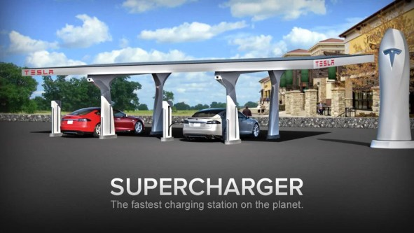 Tesla to open Superchargers