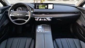 Genesis Electrified G80-interior