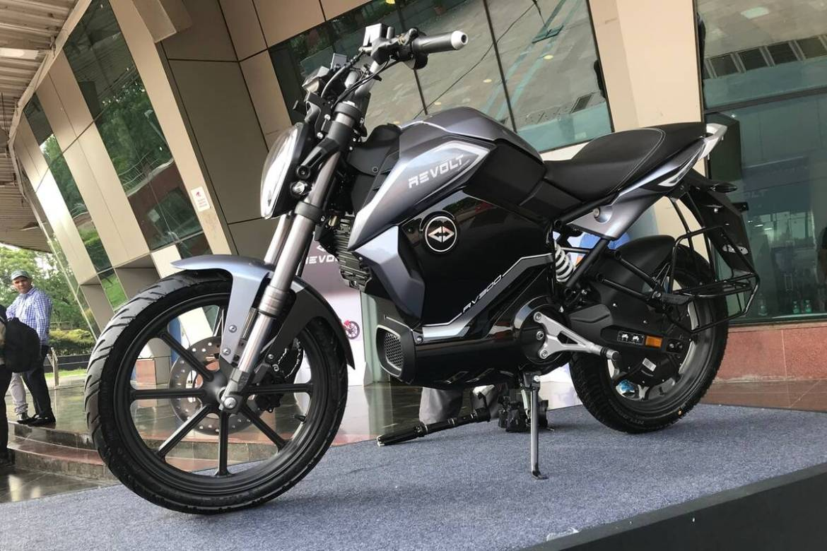 RV1 – Lower-cost Sibling Of The Hot-Selling Revolt Electric Motorcycle