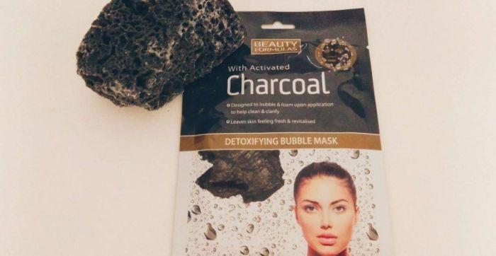 Mascarilla de burbujas detox Charcoal, de Beauty Formulas