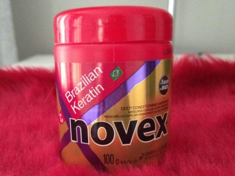 novex con queratina brasileña