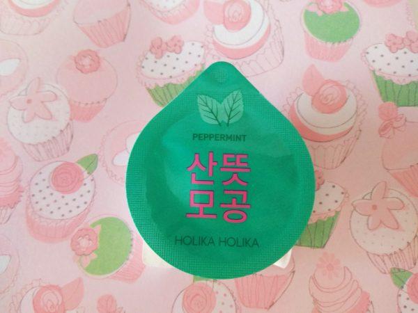 Holika Holika, mascarillas coreanas Superfood menta