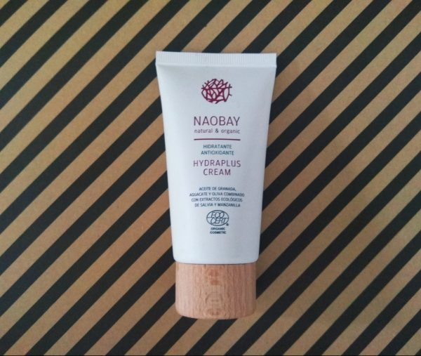 NAOBAY, Hydraplus Cream. Crema hidratante natural y organica