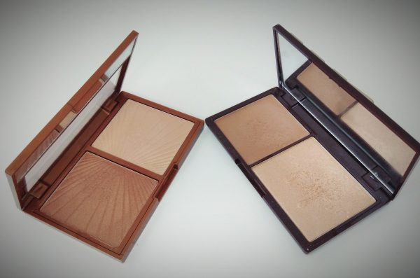 HOLLYWOOD de W7 Vs I Heart Makeup Bronze and Glow