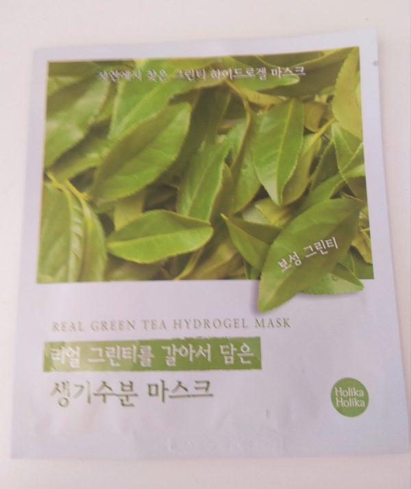 Mascarilla de hidrogel Real Green Tea