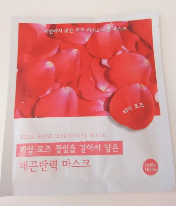 Mascarilla de hidrogel Real Rose