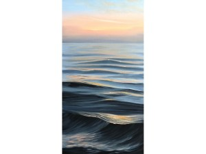 Large Sunrise over teh Ocean Painting - Dreaming of Summer