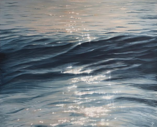 The Sun's Blessing - original seascape painting