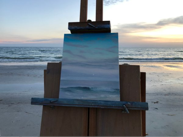 Dream On - Original Plein Air Seascape Painting