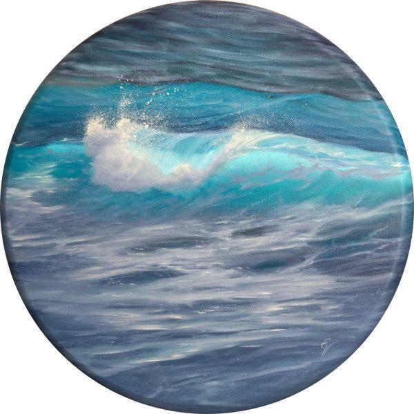 original ocean painting