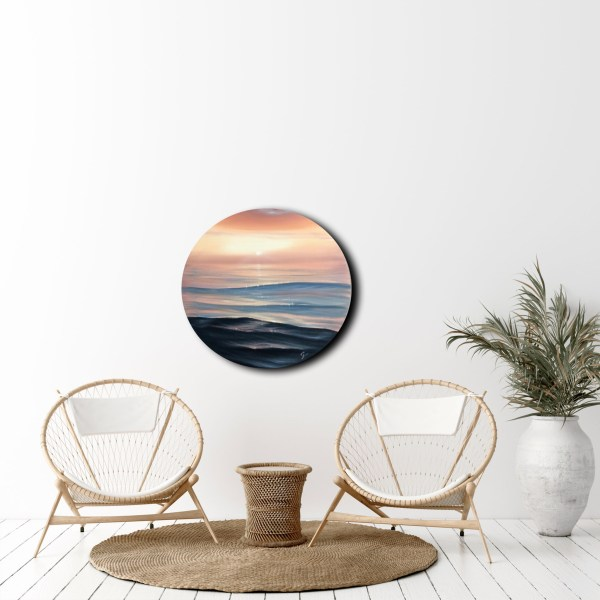 Be The Light - original sunset painting