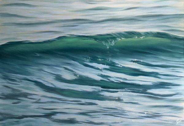 Revelation original wave painting
