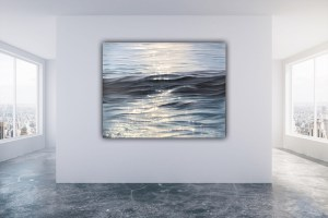 Dance of Light - original large contemporary seascape