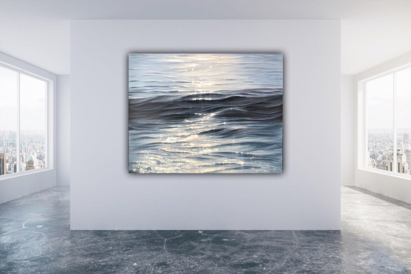 Dance of Light - original large contemporary seascape
