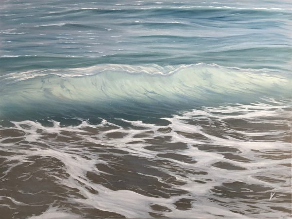 Guardian - large original Atlantic Ocean Painting