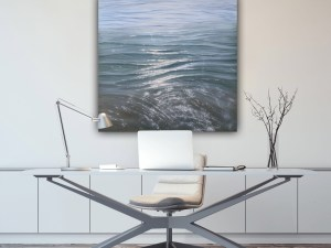 Covered in Sunshine - original oil painting of the Gulf of Mexico