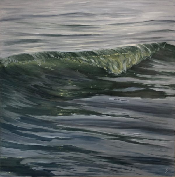 A Moment in Time - original realistic wave painting on canvas