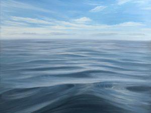 Embrace - original seascape oil painting on canvas