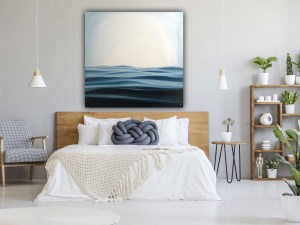 Ocean Between Us - Large Contemporary Seascape