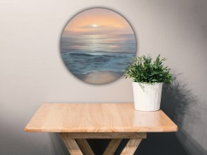 Sun Kissed - Original Coastal Sunset Painting