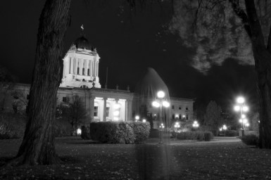 For our Halloween issue I wrote a story about Winnipeg horror film makers and the horror genre in general.