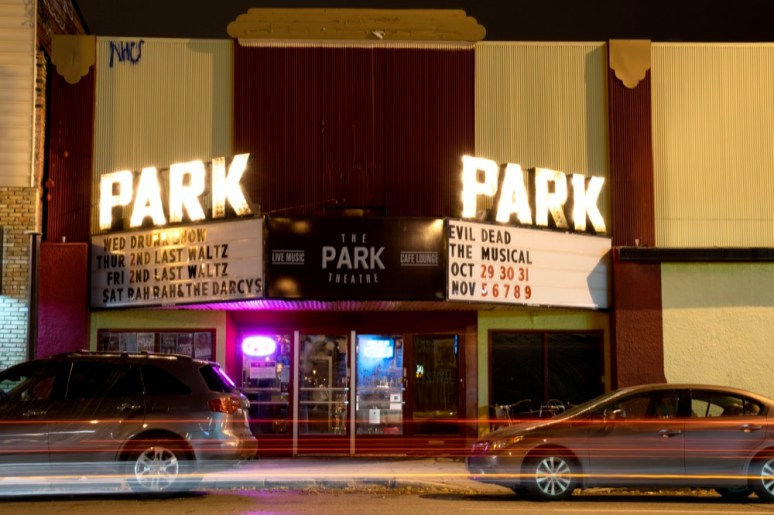 I took this photo for another contributor who was writing a story about The Park Theatre's Venue of the Year award.