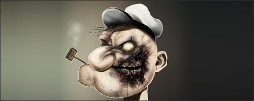Zombie Popeye