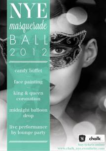 Years Eve Masquerade Ball Tickets Fri Nov 30 2012