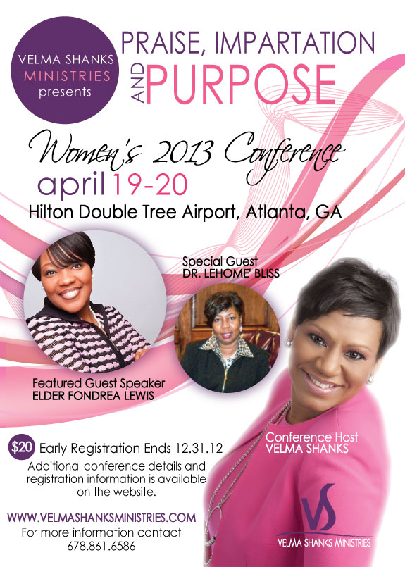 EARLY REGISTRATION PRAISE IMPARTATION AND PURPOSE WOMEN