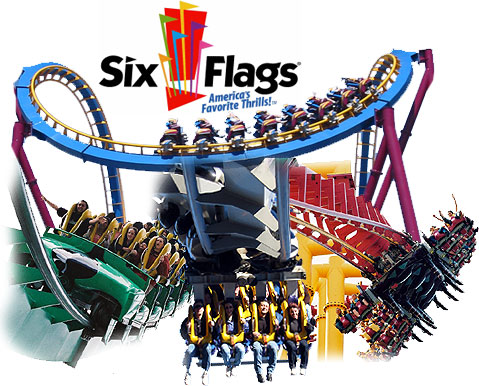 Images of the x roller coaster at six flags magic mountain. X2 Six Flags Logo