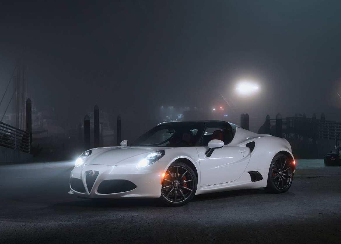 Alfa Romeo 4c Spider Exterior