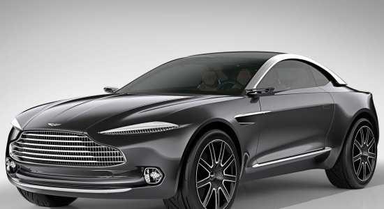 luxury electric cars Aston Martin DBX