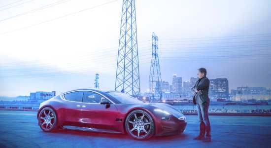 luxury electric cars Fisker E Motion