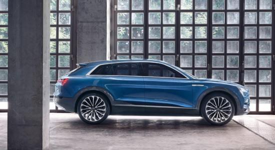Audi E Tron Quattro - upcoming electric cars