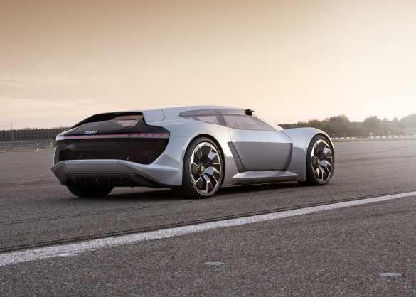 Audi shows its new PB18 e-tron electric supercar concept